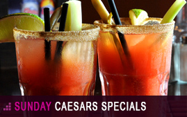 Sunday Special on Caesars