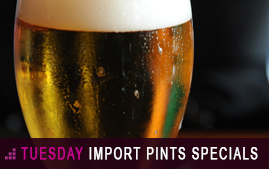 Tuesday Special on Pints